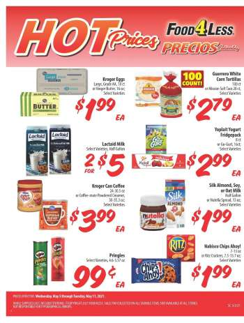 Food 4 Less Flyer - 05.05.2021 - 05.11.2021.