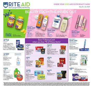 RITE AID Flyer - 05.16.2021 - 05.22.2021.
