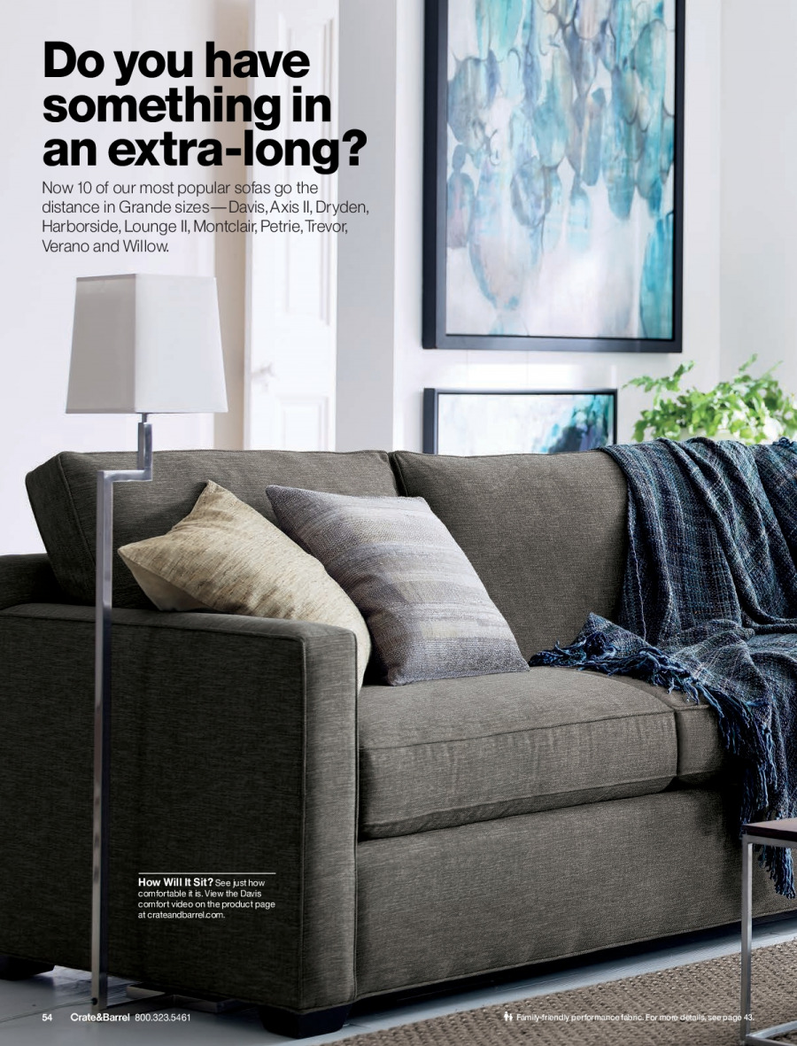 Crate & Barrel Flyer - 02.01.2018 - 02.28.2018 - Sales products - crate. Page 54.