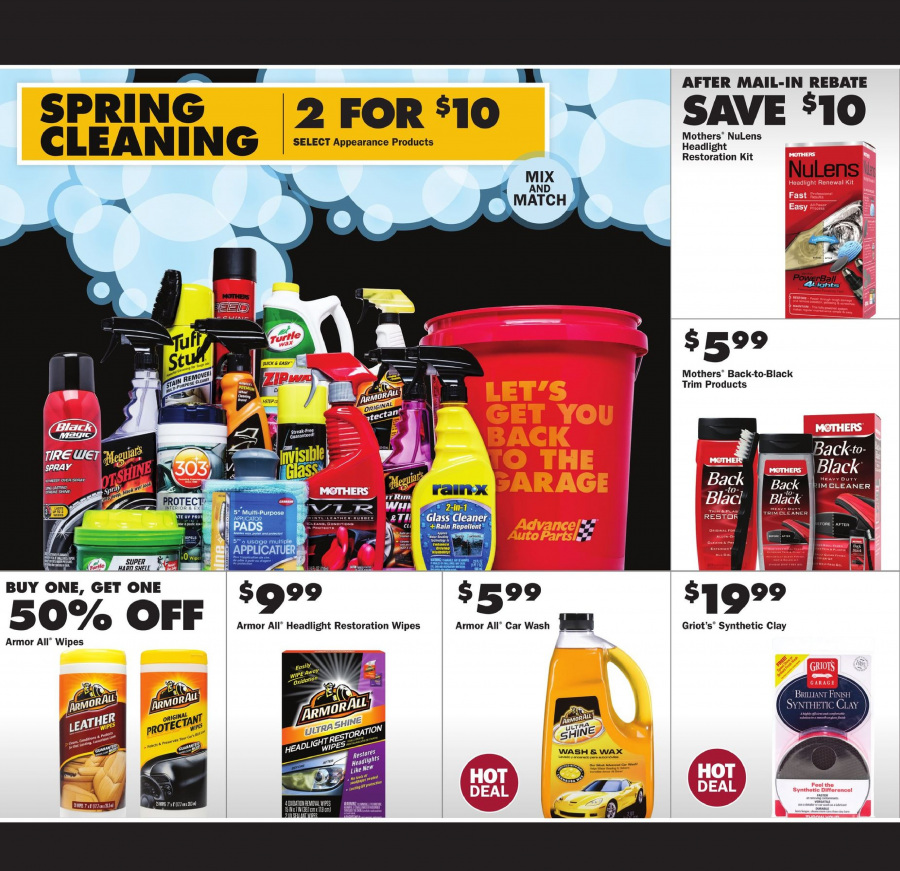 Current ad Advance Auto Parts