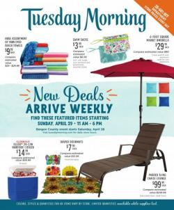 picture regarding Tuesday Morning Printable Coupons identified as Tuesday Early morning - advert, flyer, round, coupon and revenue