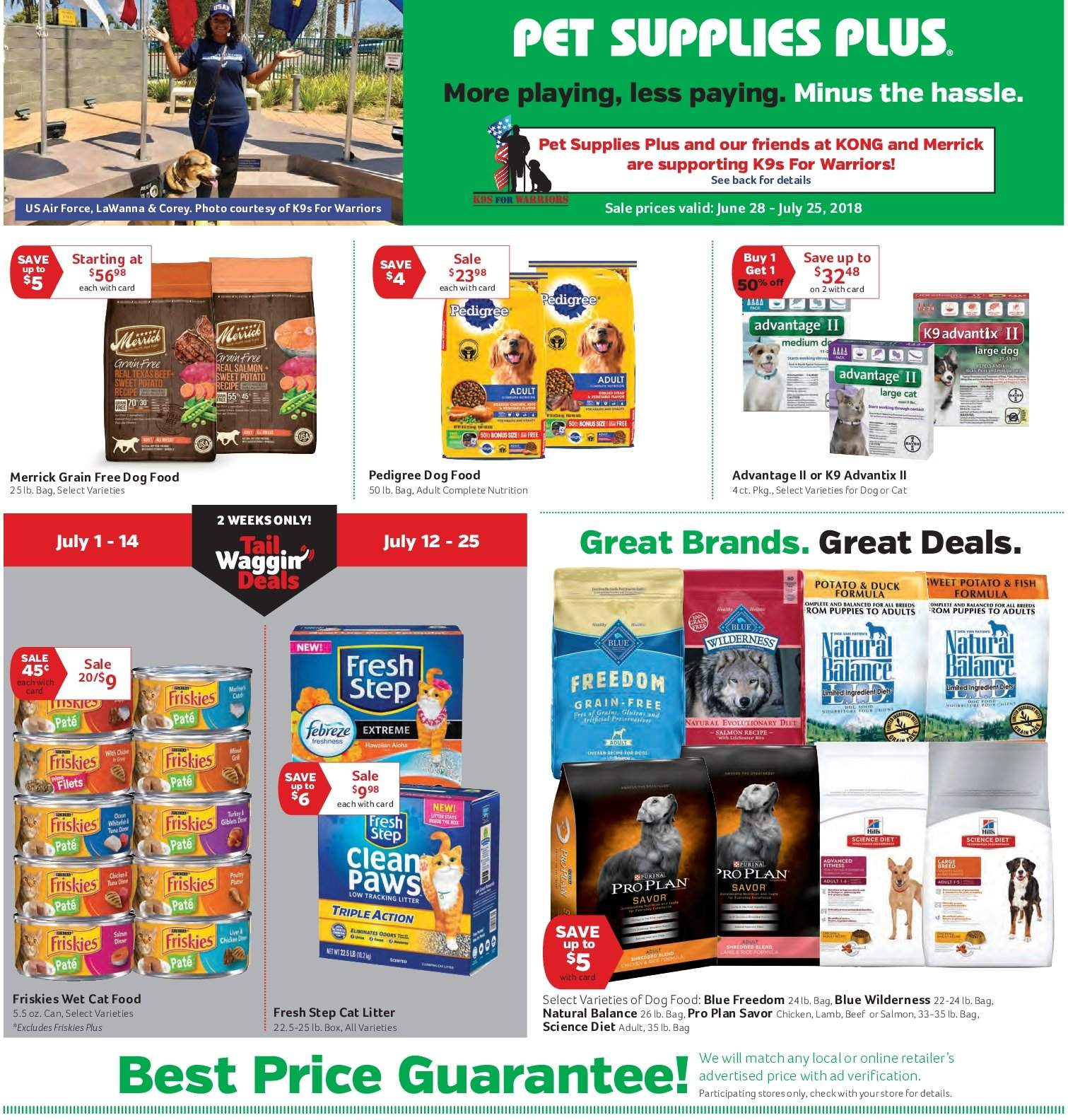 Current ad Pet Supplies Plus