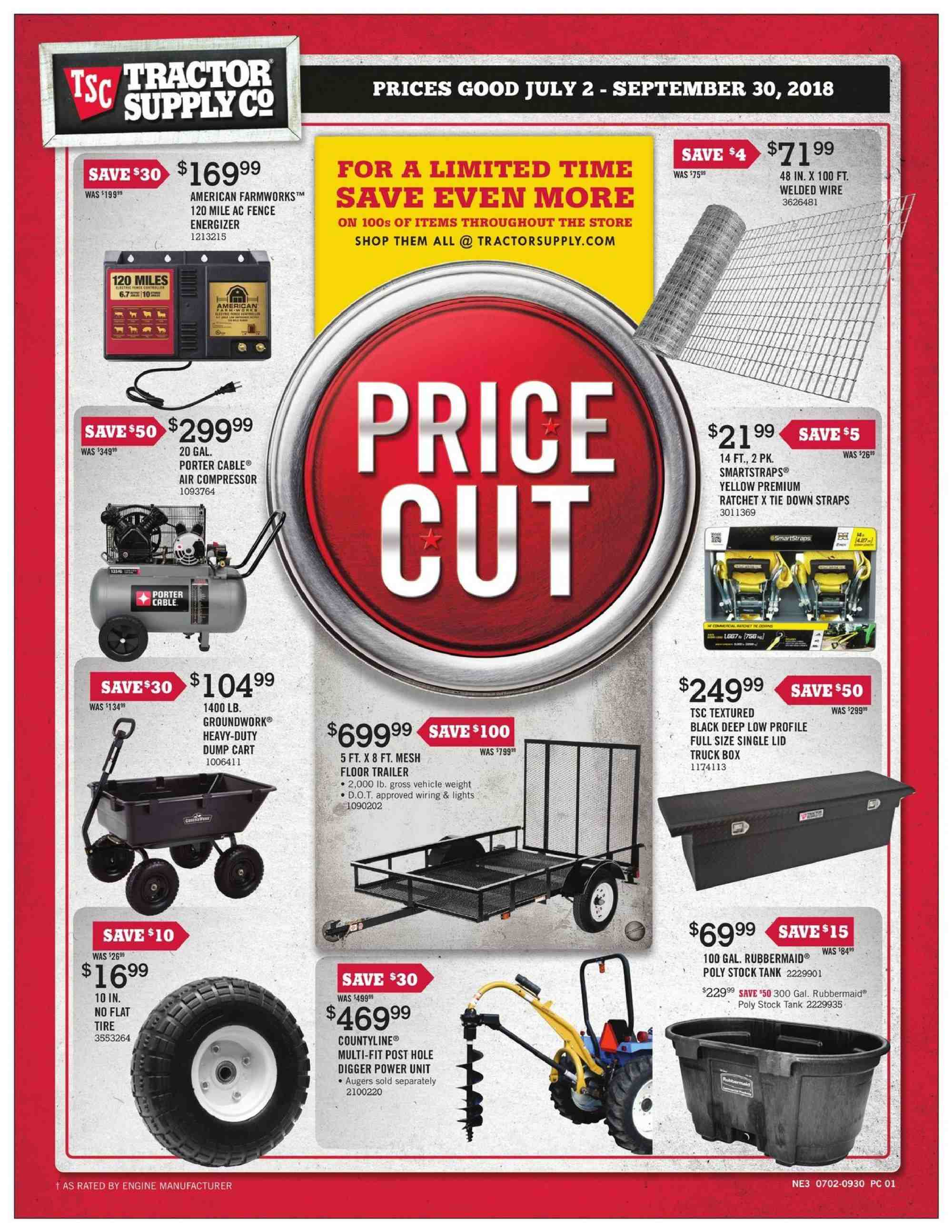 Current ad Tractor Supply