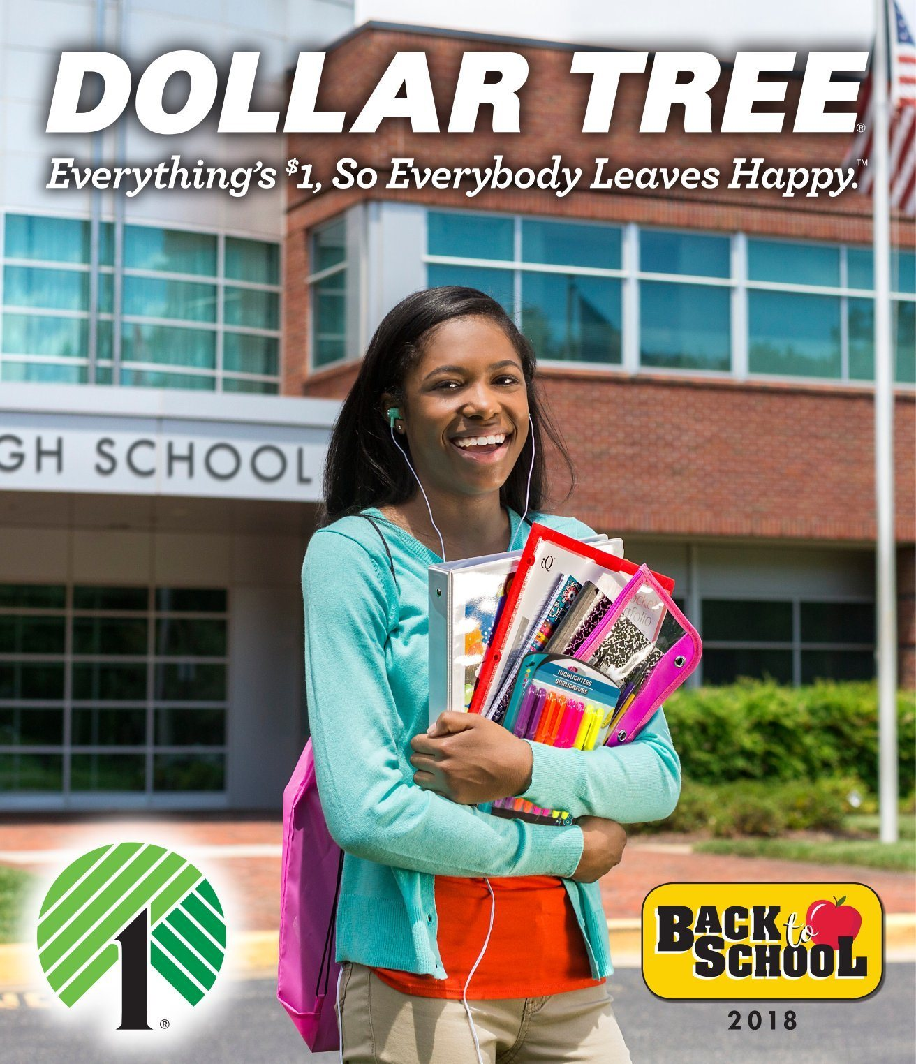 Dollar Tree Flyer  - 07.05.2018 - 08.31.2018. Page 1.