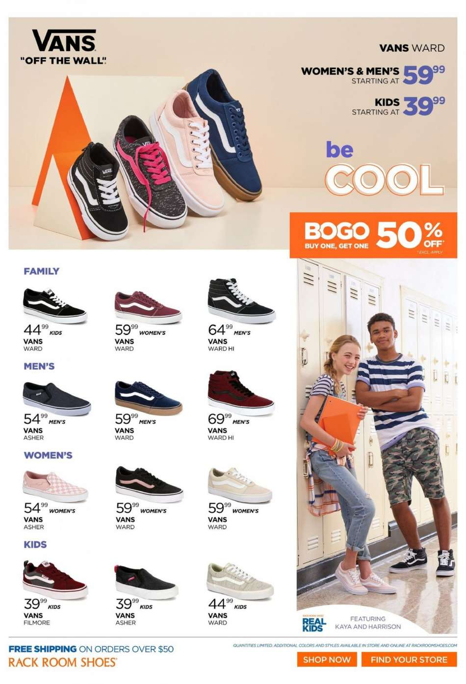 3477f4765b38d1 Rack Room Shoes Flyer - 07.11.2018 - 07.28.2018 - Sales products -
