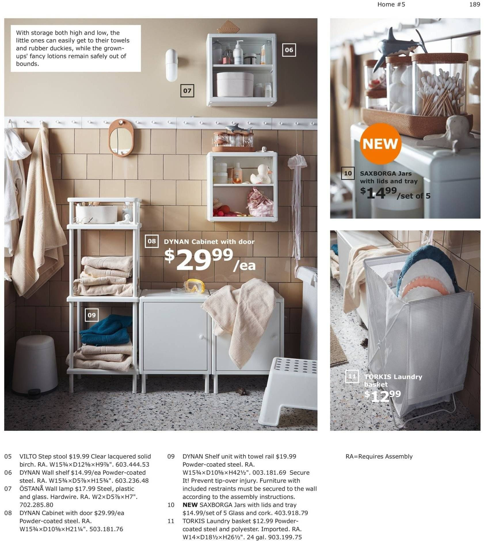 IKEA Flyer  - 08.01.2018 - 07.31.2019. Page 189.