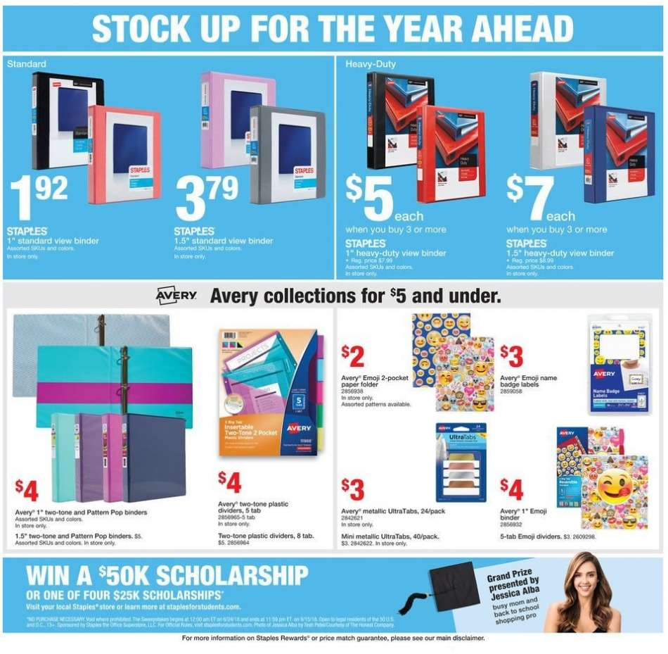 Staples flyer 08 12 2018 - 08 18 2018 | Weekly-ads us