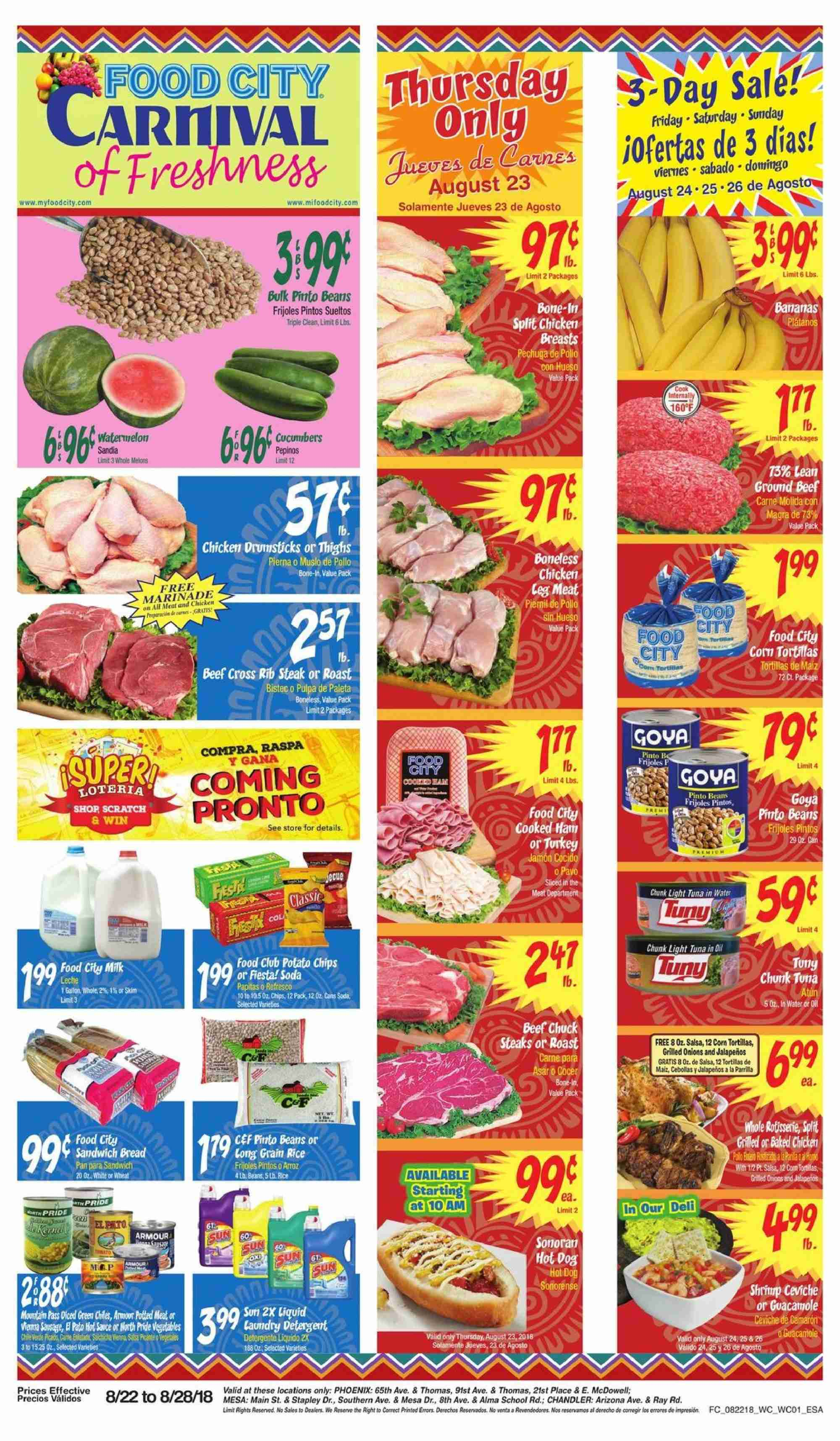 Current Ad Food City Weekly Ads