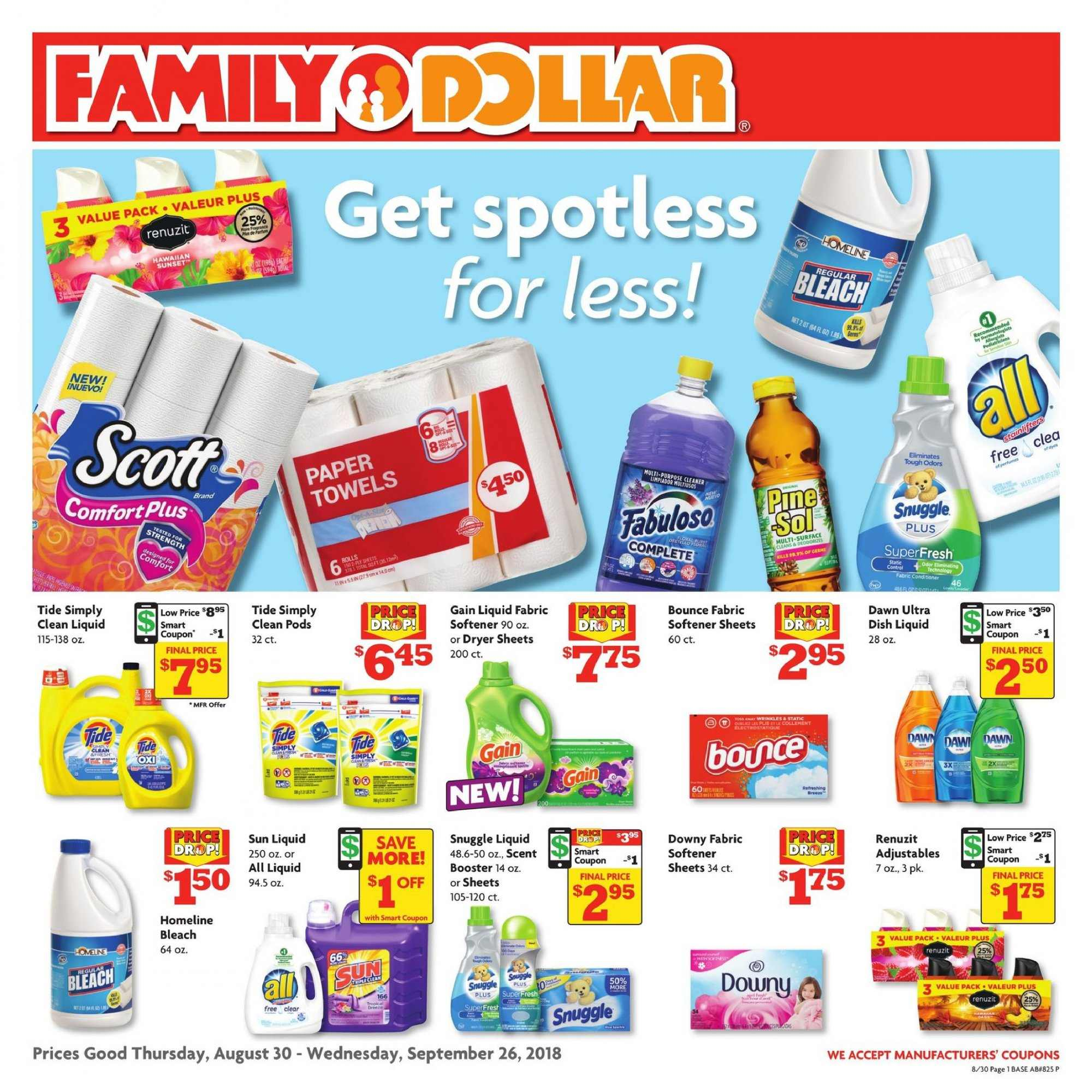 Current ad Family Dollar