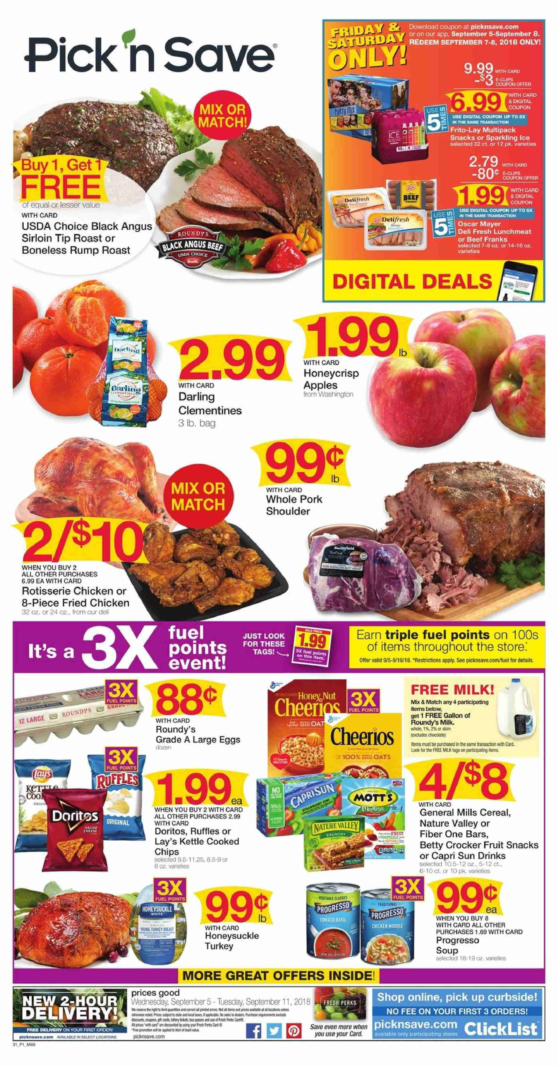 Pick N Save Flyer 09 05 2018 11 S Products