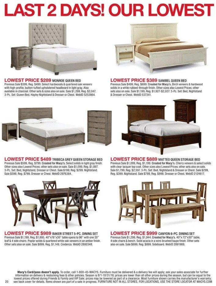 Macy S Flyer 09 14 2018 09 15 2018 Page 20 Weekly Ads