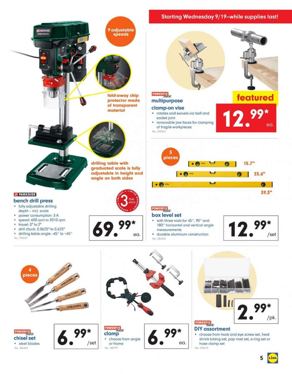 Lidl Flyer 09192018 09252018 Weekly Adsus
