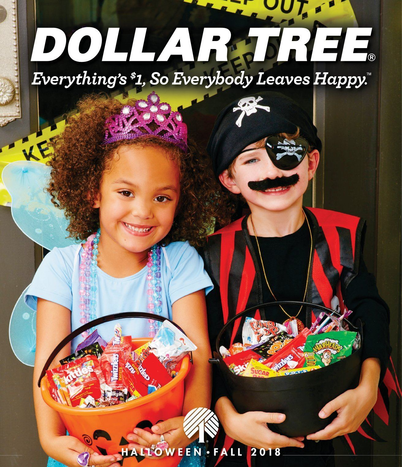 Dollar Tree Flyer - 09.01.2018 - 11.30.2018 - Sales products - sugar, tree. Page 1.