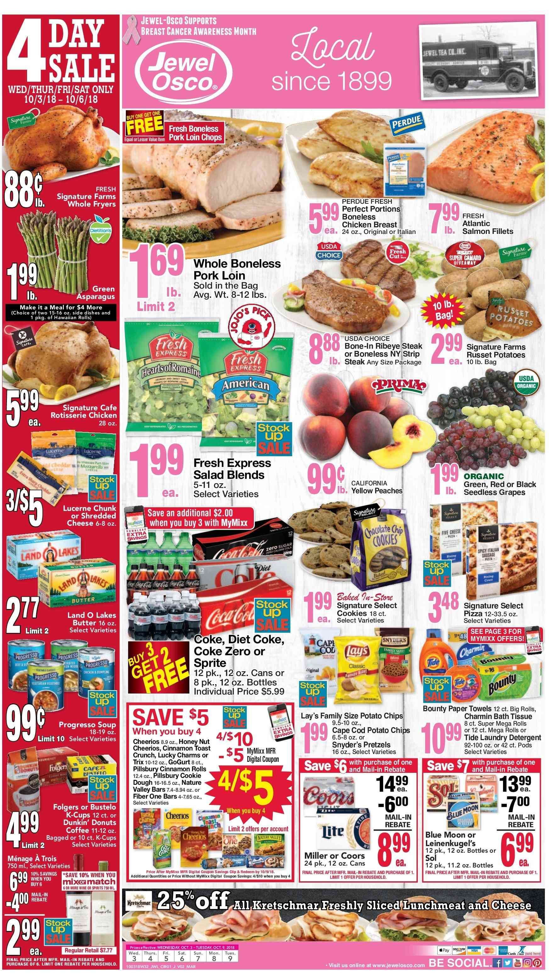 Current ad Jewel Osco - Weekly Ads