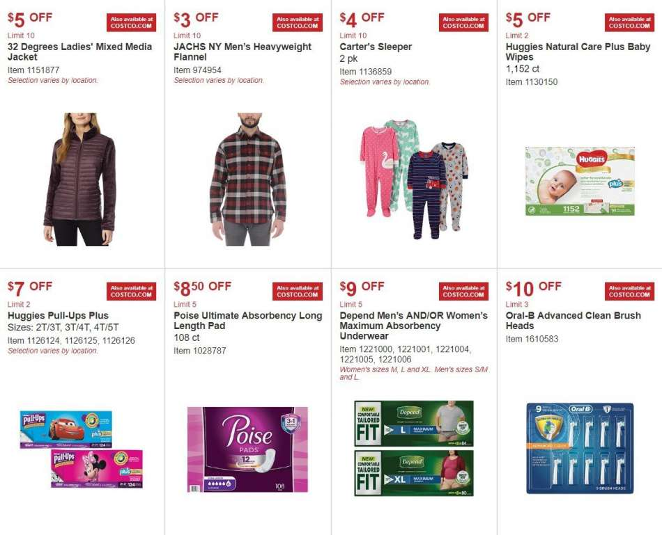 6994e7c0d Costco Flyer - 10.03.2018 - 10.28.2018 - Sales products - brush,