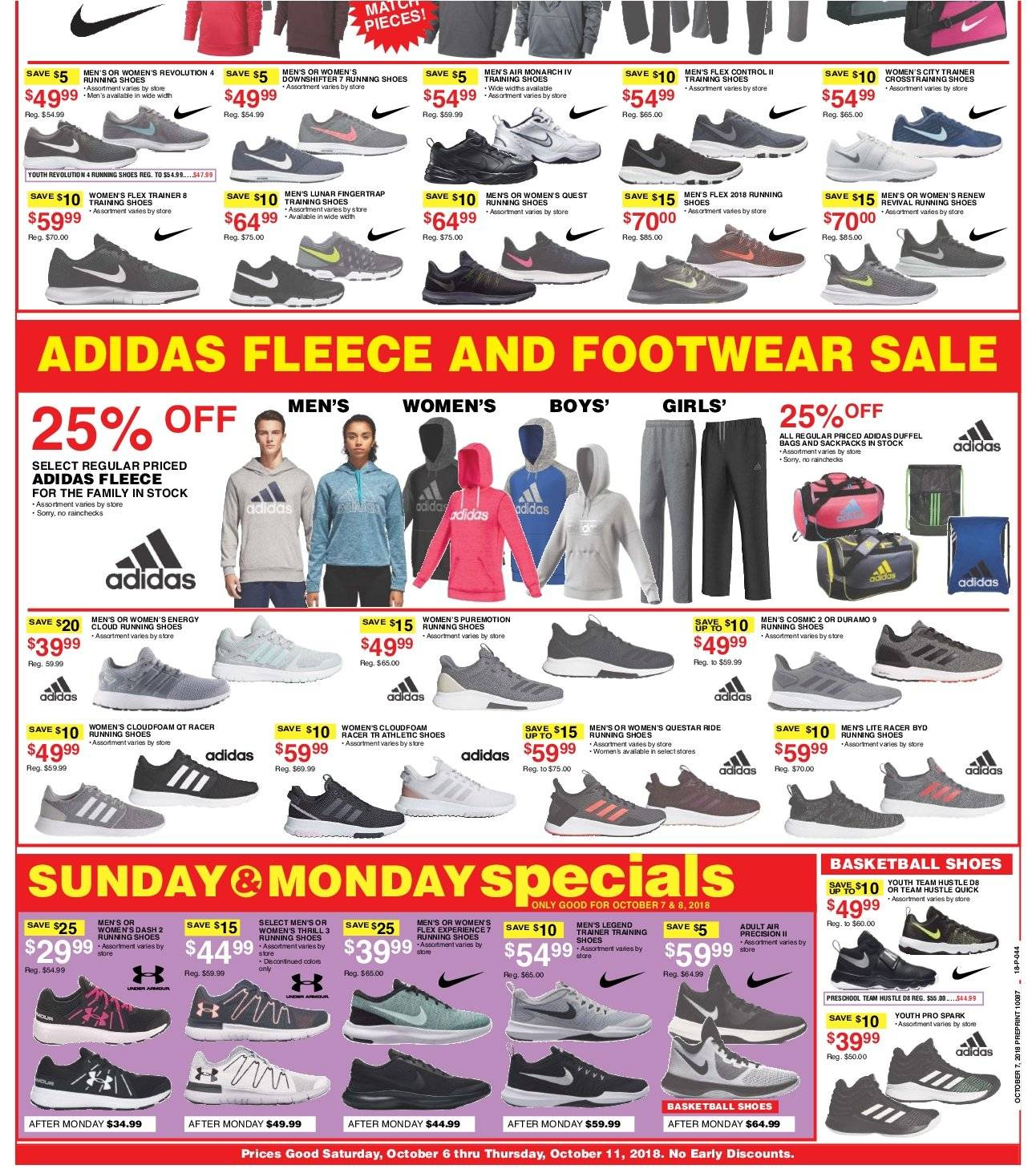 Dunham's Sports Flyer - 10.06.2018 - 10.11.2018 - Sales products - adidas, bag, running shoes, shoes, quick. Page 2.