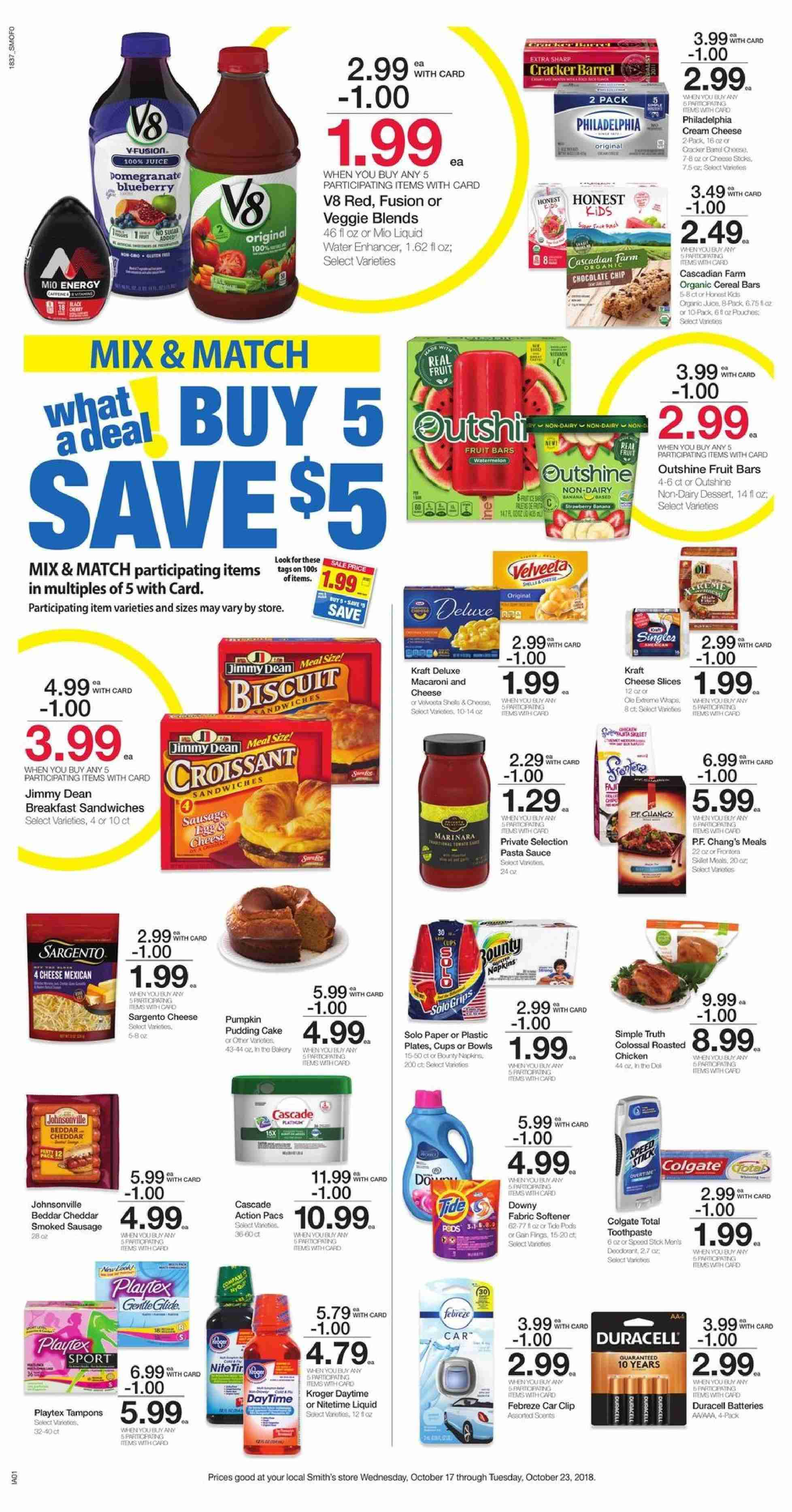 Smith's Flyer  - 10.17.2018 - 10.23.2018. Page 5.