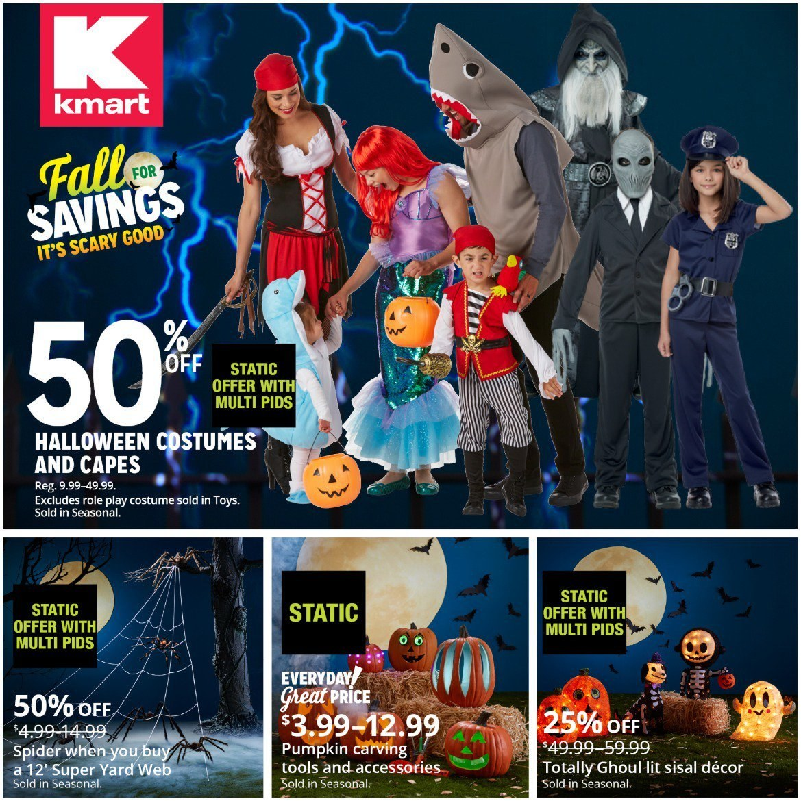Kmart Flyer  - 10.21.2018 - 10.31.2018. Page 1.