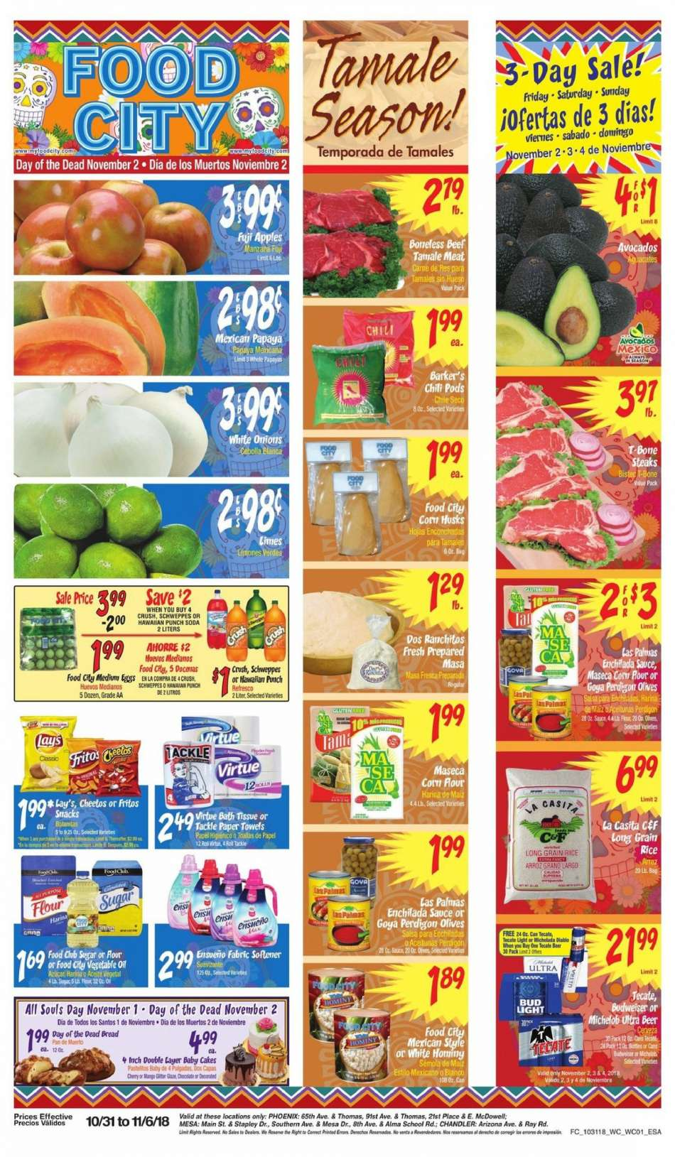 Current Food City Flyer 10312018 11062018 Weekly Adsus