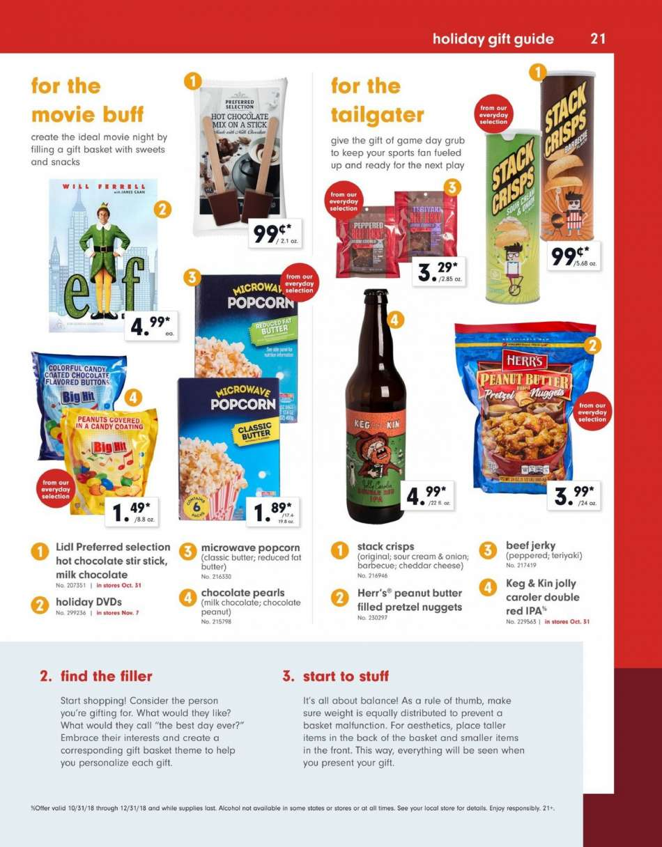 Current Lidl Flyer 10312018 12312018 Weekly Adsus
