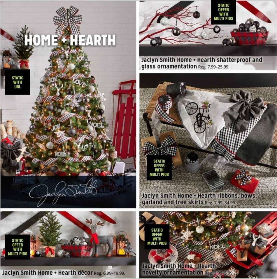 Kmart Christmas Trees Jaclyn Smith.Kmart Flyer 11 01 2018 12 24 2018 Weekly Ads Us