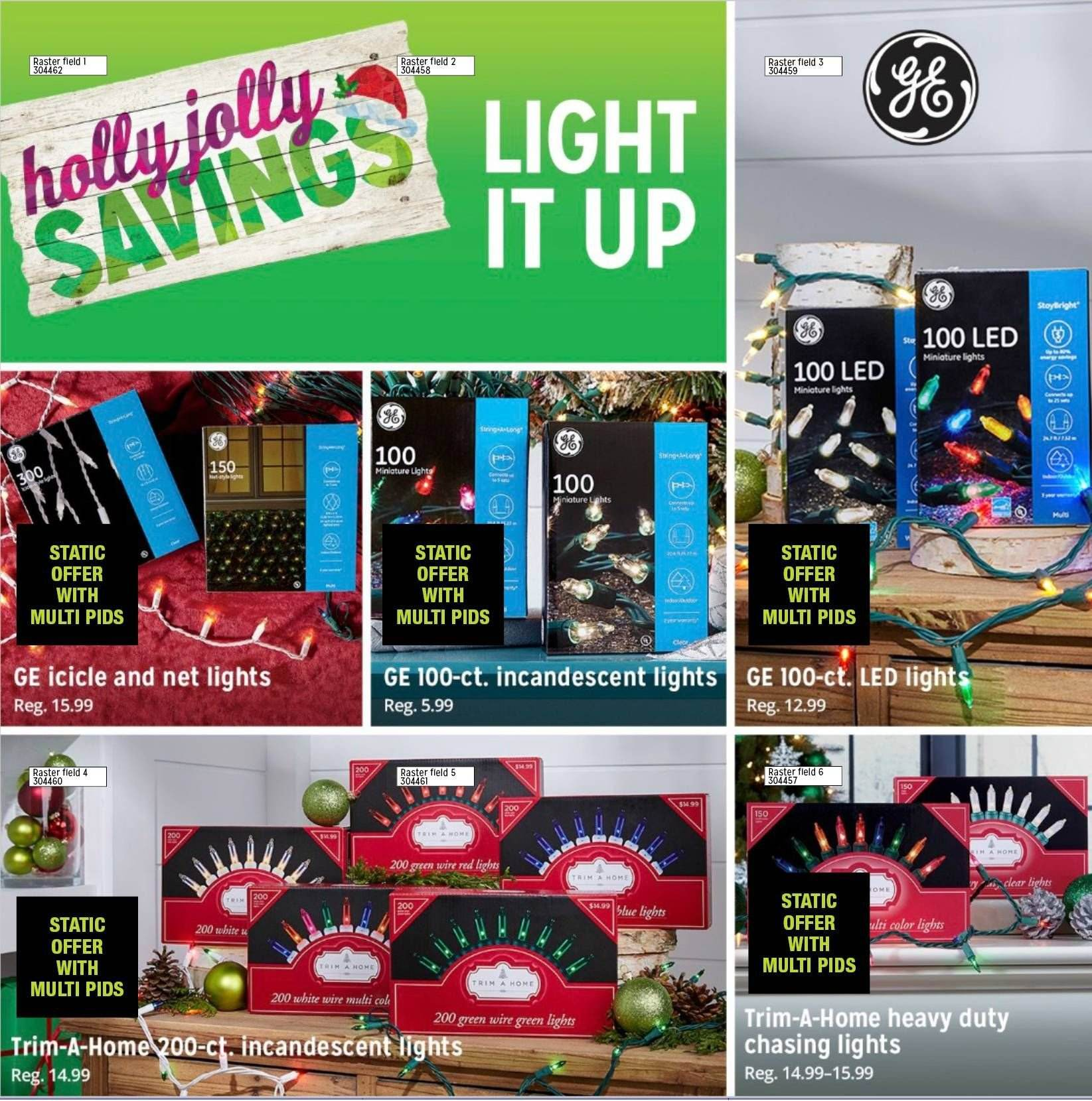 Kmart Flyer - 11.01.2018 - 12.24.2018 - Sales products - led light. Page 17.