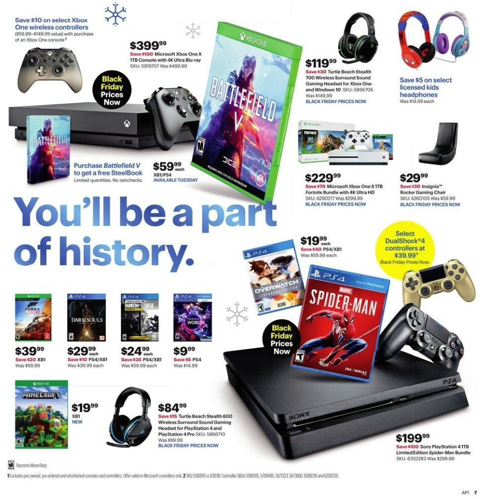 Best Buy Flyer 11 18 2018 11 21 2018 Page 7 Weekly Ads