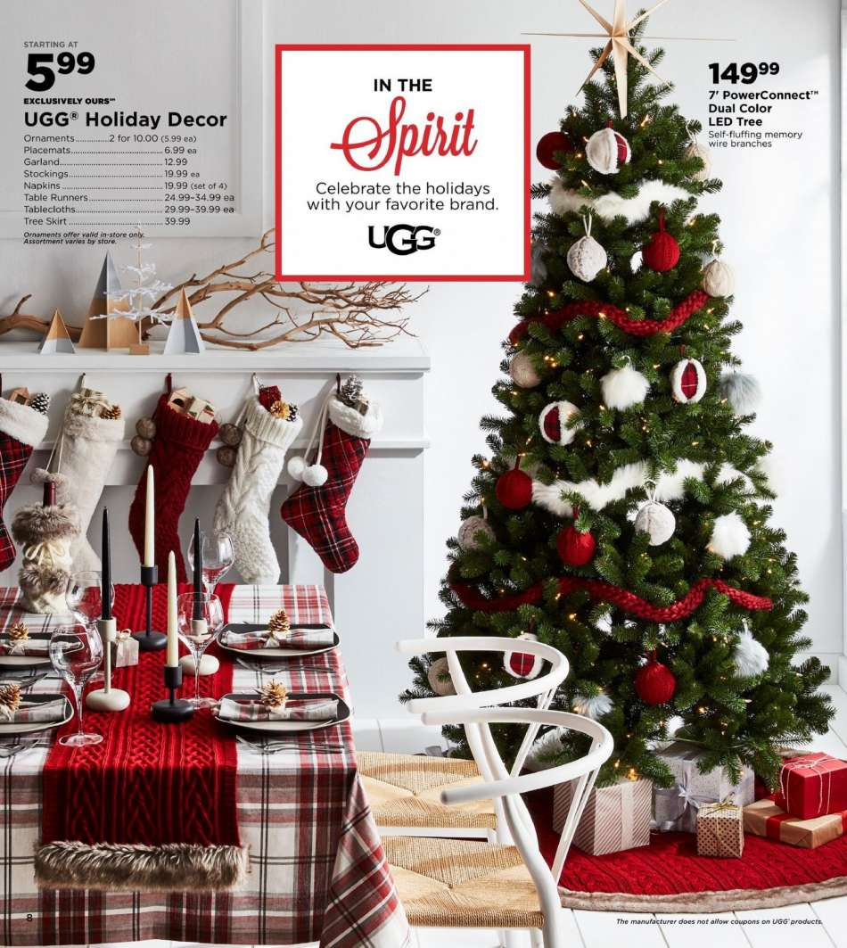 Bed Bath And Beyond Christmas Stockings.Bed Bath Beyond Flyer 11 09 2018 12 31 2018 Weekly Ads Us