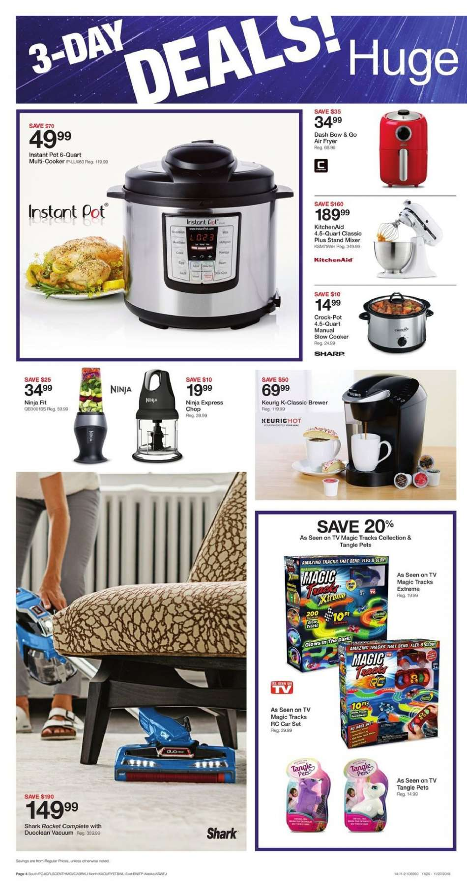 Fred Meyer flyer 11 25 2018 - 11 27 2018 | Weekly-ads us