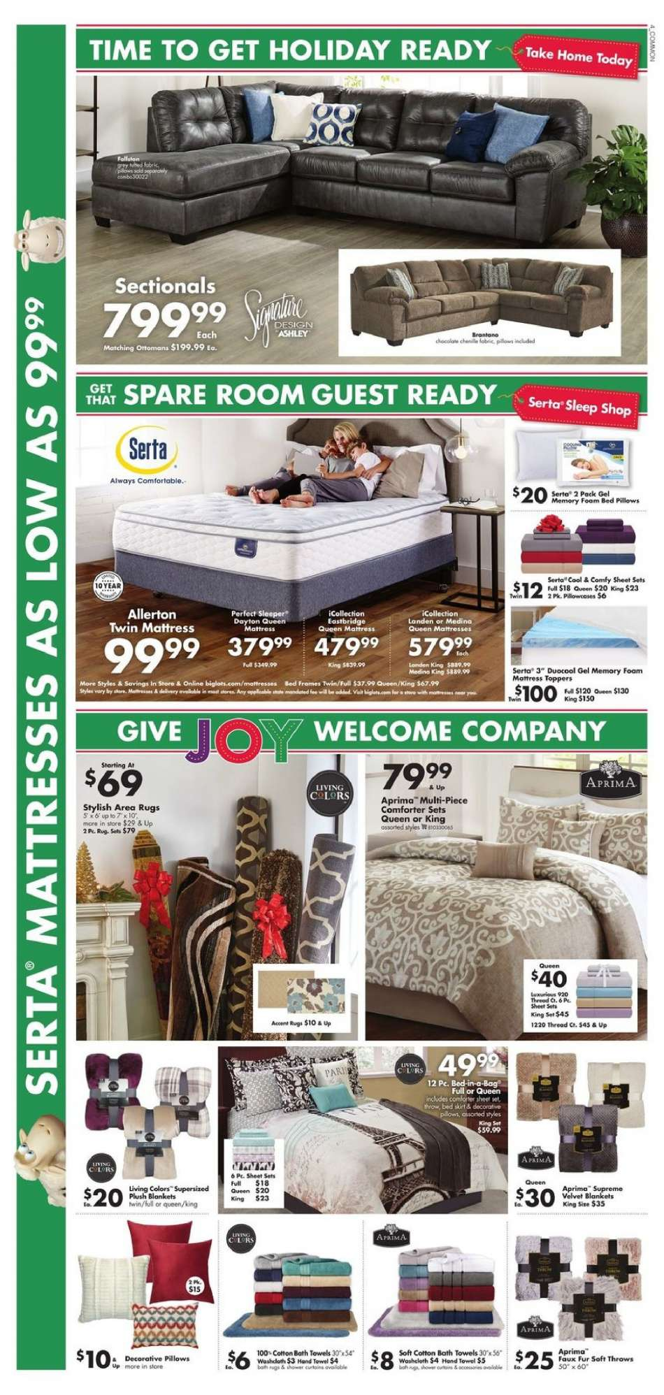 Big Lots Flyer 11 24 2018 12 01 S Products Always