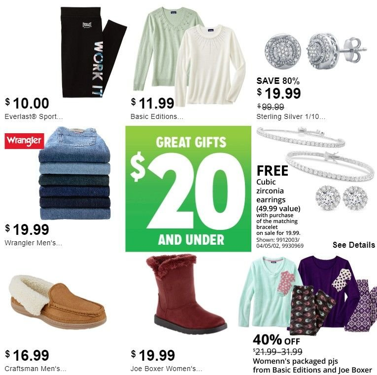 Kmart Flyer - 11.26.2018 - 12.01.2018 - Sales products - bracelet, craftsman, earring, earrings, everlast. Page 6.