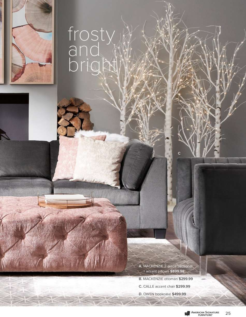 Amazing American Signature Furniture Flyer Weekly Ads Us Home Interior And Landscaping Oversignezvosmurscom