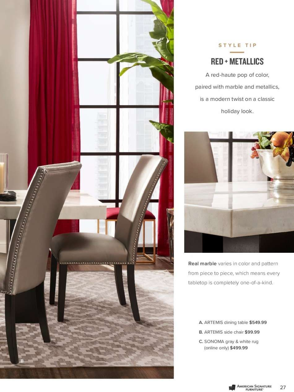Peachy American Signature Furniture Flyer Weekly Ads Us Home Interior And Landscaping Oversignezvosmurscom