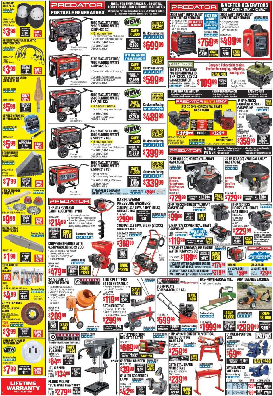 Harbor Freight flyer 12 01 2018 - 12 31 2018 | Weekly-ads us