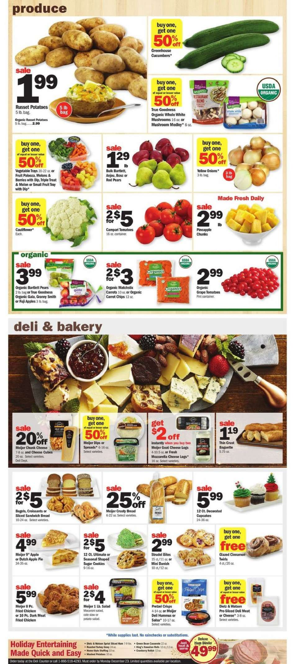 Current Meijer Flyer 12 02 2018 12 08 2018 Weekly Ads Us