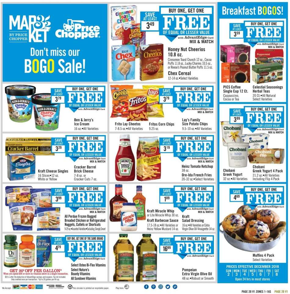 Price Chopper flyer 12 02 2018 - 12 08 2018 | Weekly-ads us