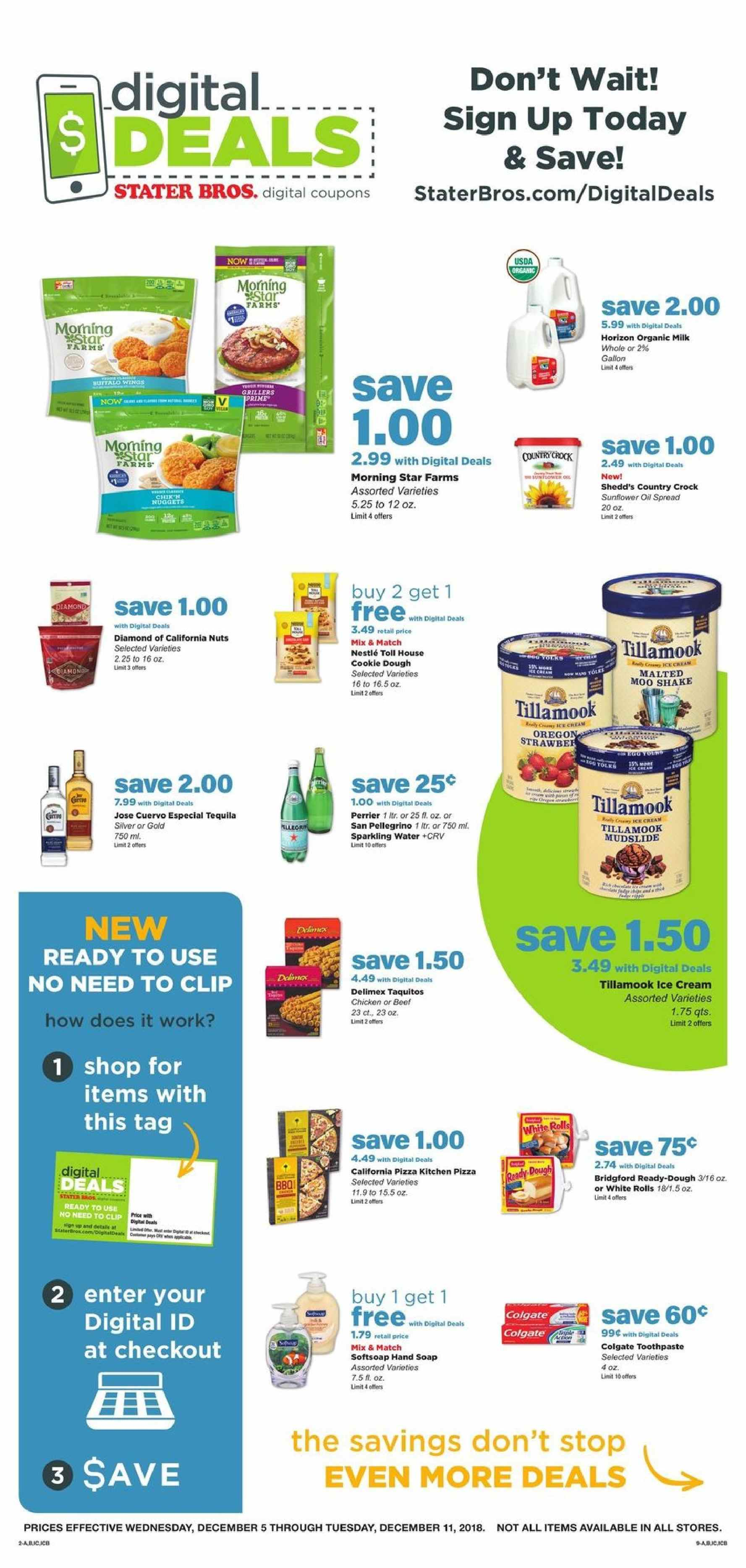 Stater Bros Flyer 12 05 2018 12 11 2018 Page 8 Weekly Ads