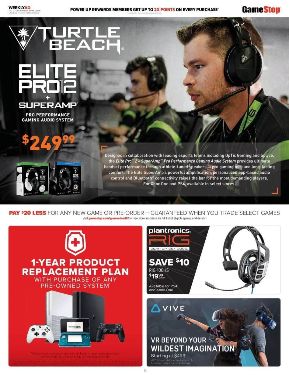 GameStop flyer 12 05 2018 - 12 11 2018 | Weekly-ads us