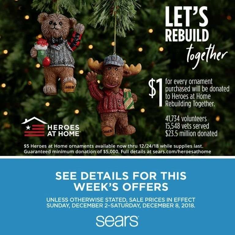 Sears Flyer 12 02 2018 12 08 2018 Weekly Ads Us