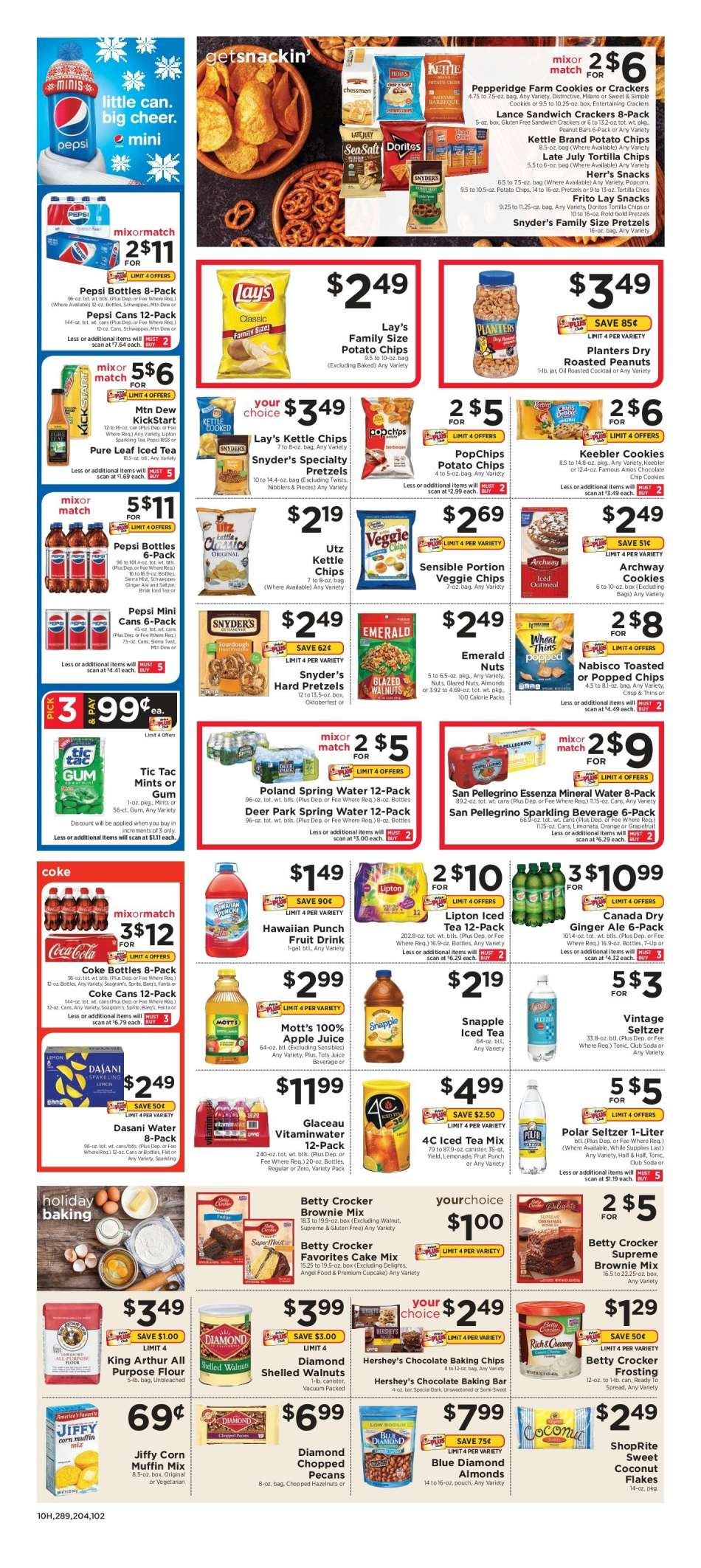 Current Shoprite Flyer 12 09 2018 12 15 2018 Weekly Ads Us