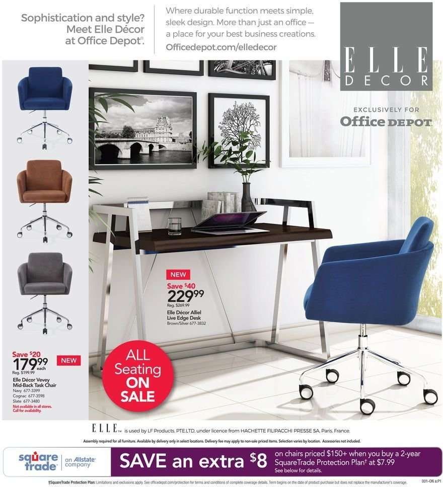 Terrific Office Depot Flyer 12 09 2018 12 15 2018 Weekly Ads Us Ibusinesslaw Wood Chair Design Ideas Ibusinesslaworg