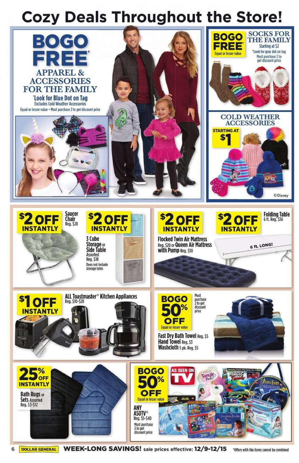 Current Dollar General Flyer 12092018 12152018 Weekly Adsus
