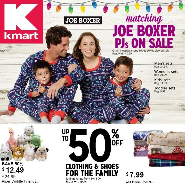 Kmart Flyer  - 12.09.2018 - 12.15.2018. Page 1.