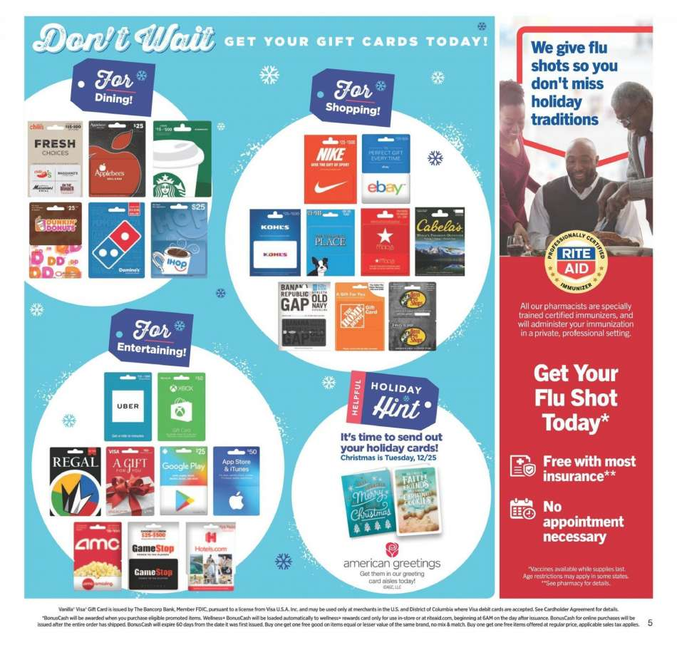 Current Rite Aid flyer 12.09.2018 - 12.15.2018 | Weekly-ads.us