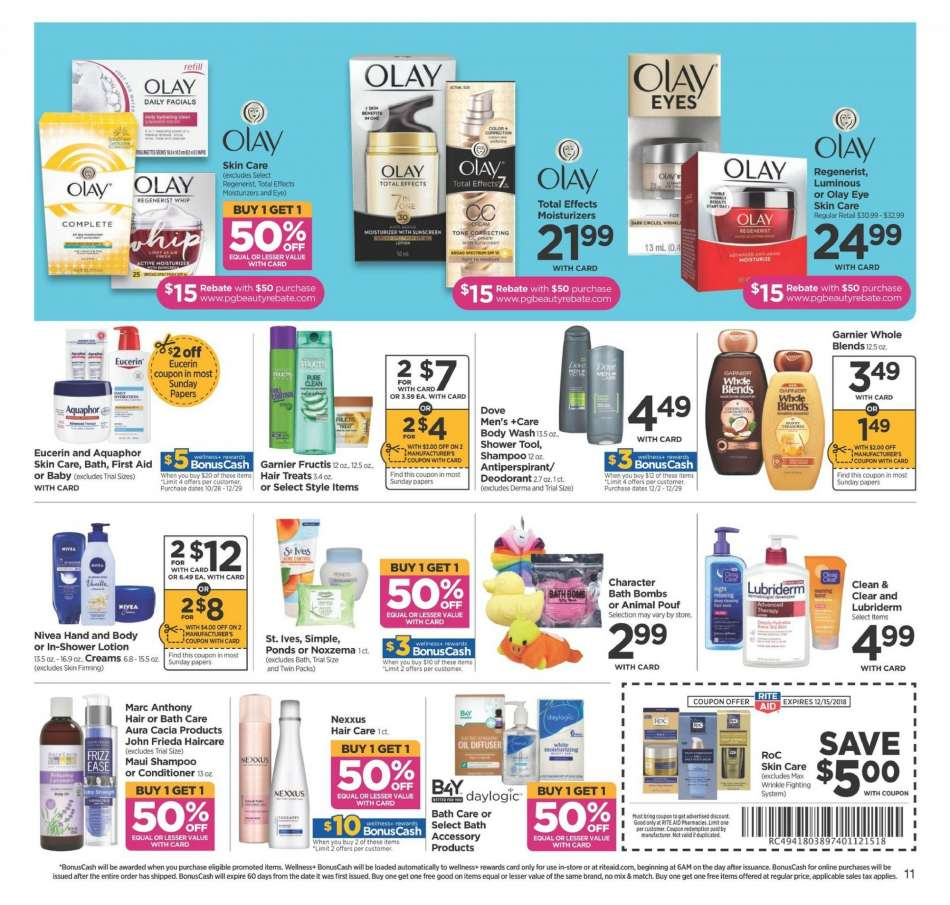 RITE AID flyer 12 09 2018 - 12 15 2018   Weekly-ads us