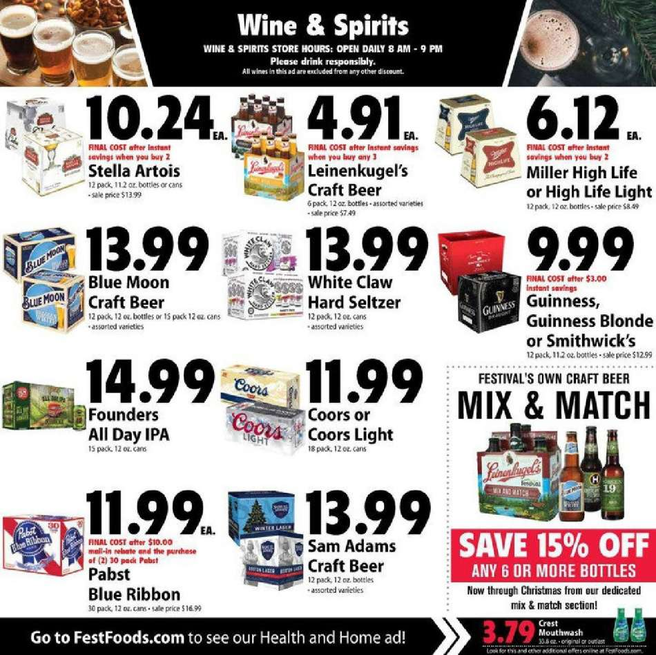 Festival Foods flyer 12 12 2018 - 12 18 2018 | Weekly-ads us