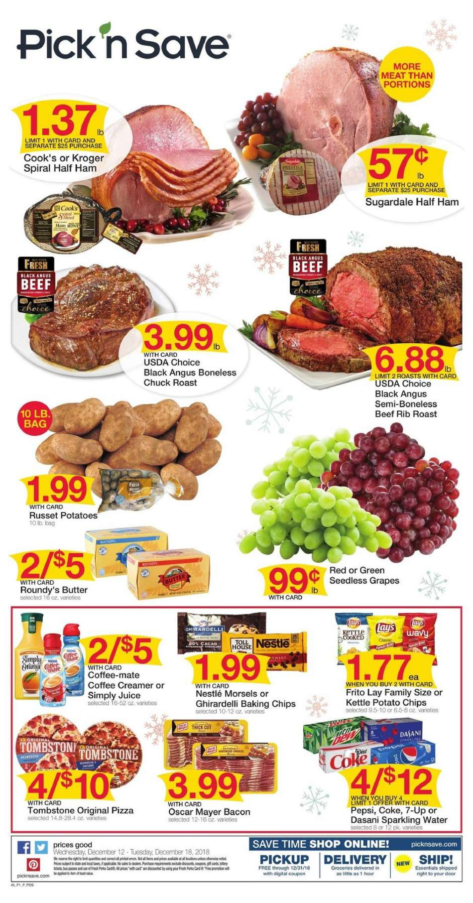 Pick N Save Flyer 12 2018 18 S Products
