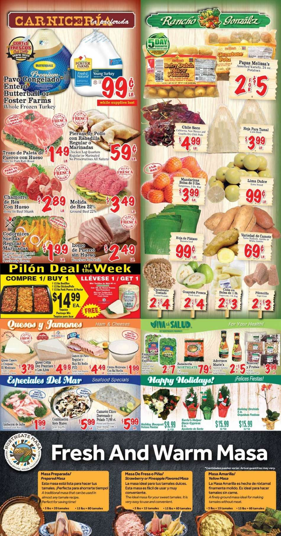 Northgate Market Flyer 12122018 12182018 Weekly Adsus