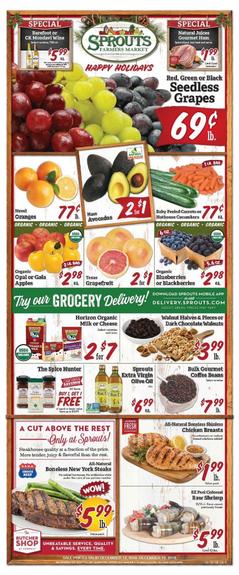 Sprouts flyer 12 12 2018 - 12 19 2018 | Weekly-ads us