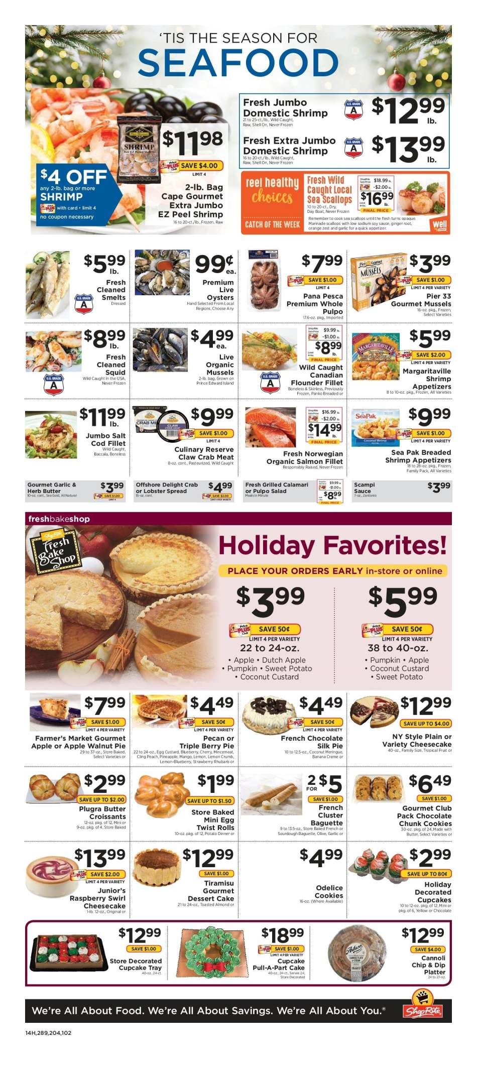 Current Shoprite Flyer 12 16 2018 12 22 2018 Weekly Ads Us